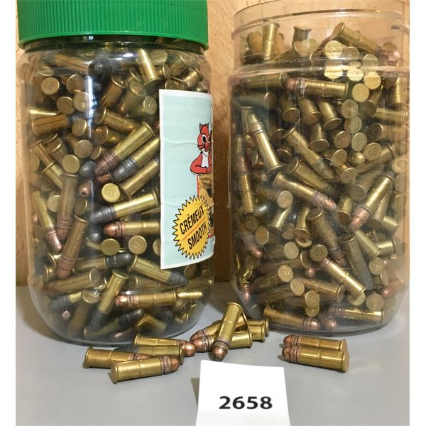 AMMO: APPROX 1000X 22 LR MIXED