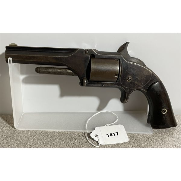 SMITH & WESSON 1 1/2 MODEL FIRST ISSUE IN  .32 RF - ANTIQUE CLASS