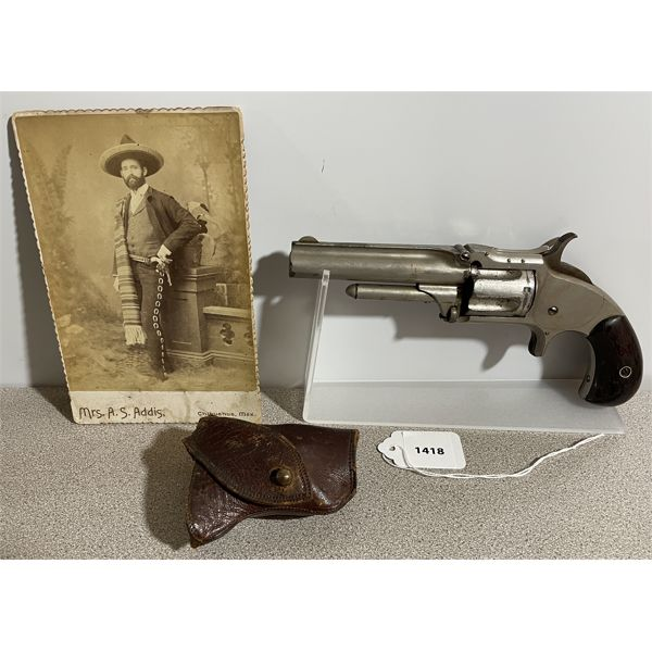 SMITH & WESSON 1 1/2 MODEL SECOND ISSUE IN  .32 RF - ANTIQUE CLASS