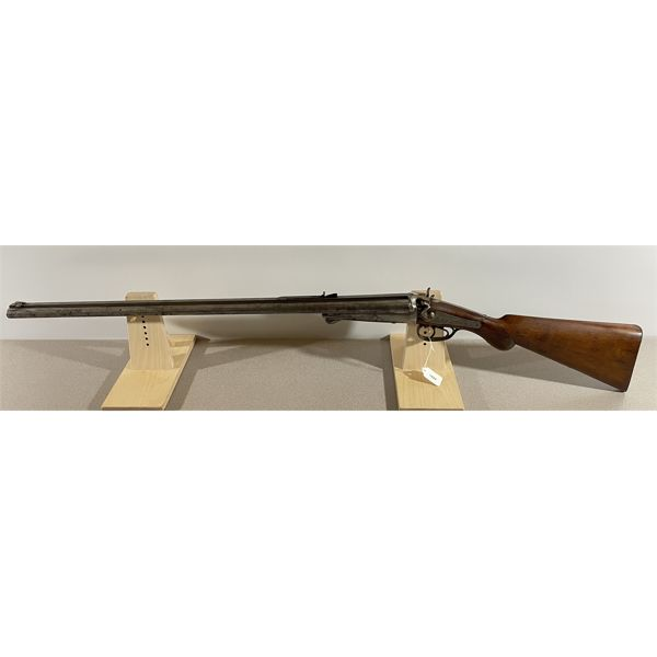 W RICHARDS CAPE GUN 12 GA / LARGE BORE UNKNOWN CAL SxS