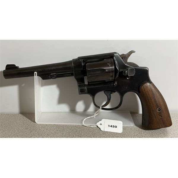 SMITH & WESSON VICTORY MODEL IN .38 S&W - RESTRICTED CLASS