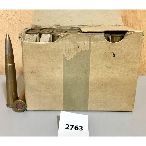 AMMO: 32X 303 BRIT M VII, 1942