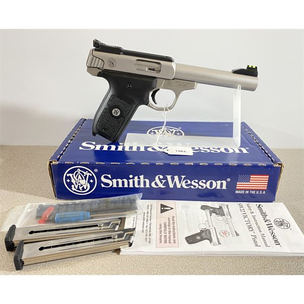 SMITH & WESSON MODEL SW22 VICTORY IN .22 LR