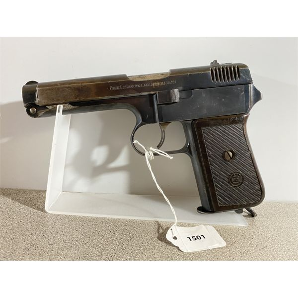 CZ MODEL M-24 IN 9 MM BROWNING SHORT - RESTRICTED CLASS