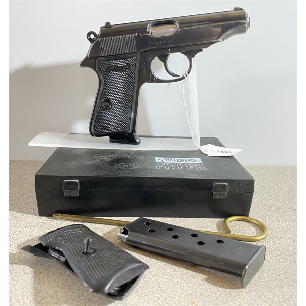 WALTHER MODEL PP IN 7.65 - PROHIB CLASS