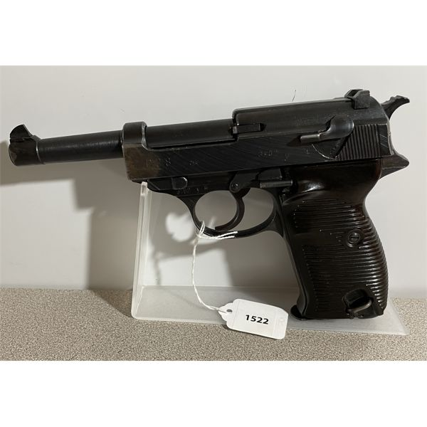 WALTHER MODEL P38 IN 9 MM - RESTRICTED CLASS