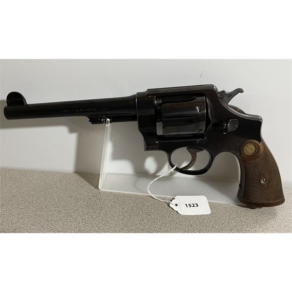 SMITH & WESSON MARK II HAND EJECTOR 2ND MODEL IN .455  - RESTRICTED CLASS