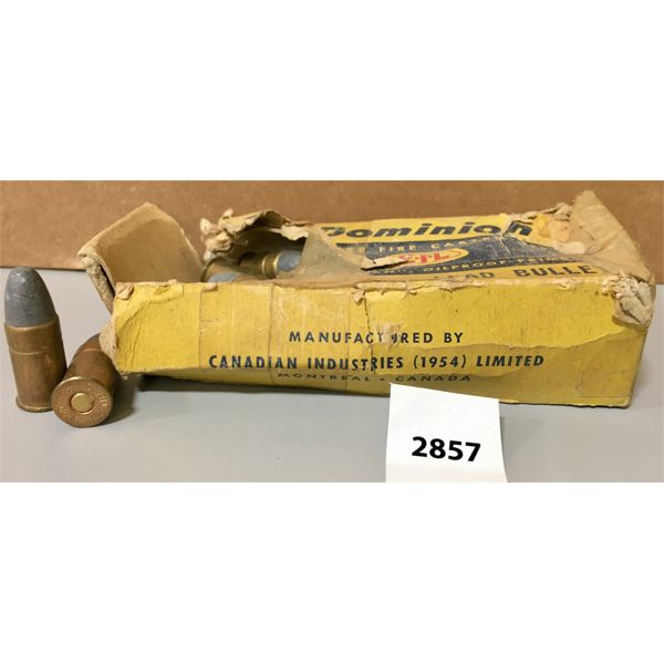 AMMO: 27X 455 COLT (WEBLEY)