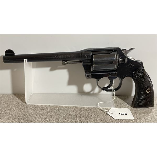 COLT POLICE POSITIVE MODEL IN .38 SPL - RESTRICTED CLASS
