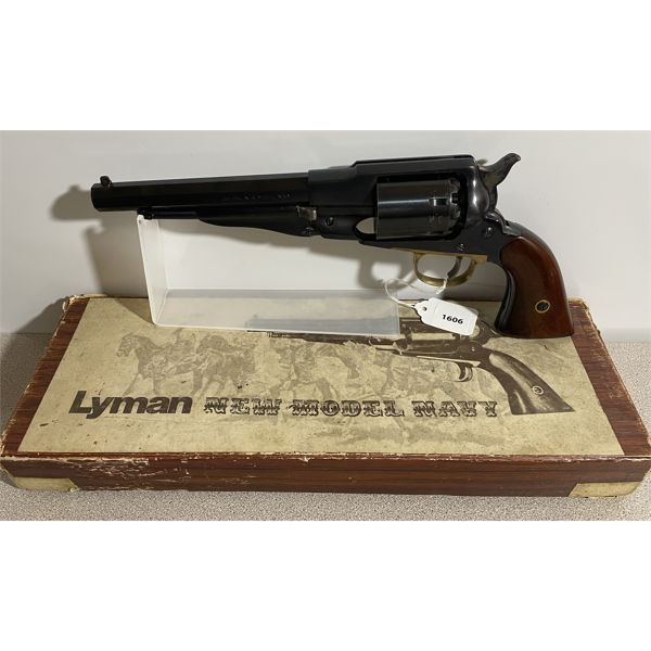 LYMAN NEW MODEL NAVY IN .36 PERC - RESTRICTED CLASS