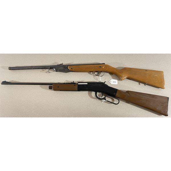 LOT OF 2 - VINTAGE PELLET GUNS - CROSMAN 73 CO2 & SLAVIC 614