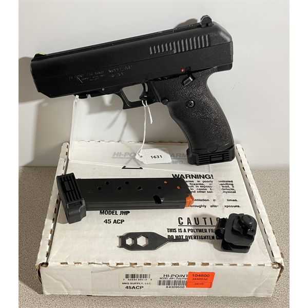 HI-POINT MODEL JHP IN .45 AUTO - RESTRICTED CLASS