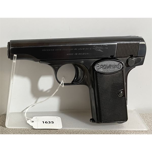 FN BROWNING STANDARD MODEL IN .32 AUTO - PROHIB CLASS