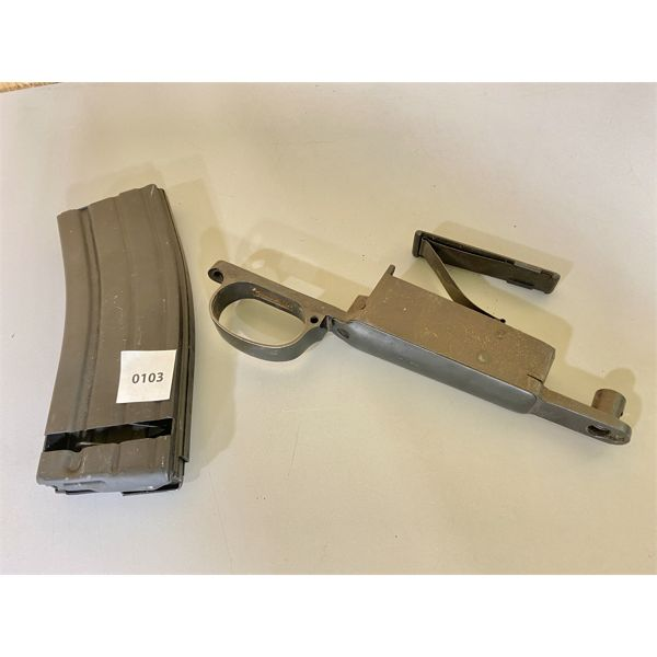 LOT OF 2- AR15 MAG & MAUSER PARTS