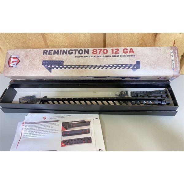 REMINGTON 870 12 GA - HALO DELUXE HEATSHIELD W/ GHOST RING SIGHTS - AS NEW