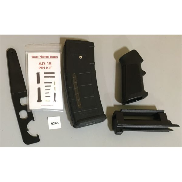 LOT OF M16 PARTS, WRENCH AND SKS SCOPE MOUNT; NIB