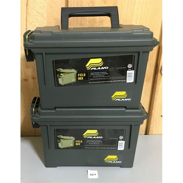 LOT OF 2 NEW PLANO AMMO BOXES