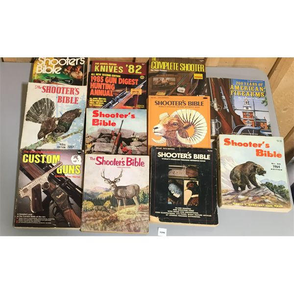 JOB LOT OF SHOOTERS BIBLE & OTHER PUBLICATIONS