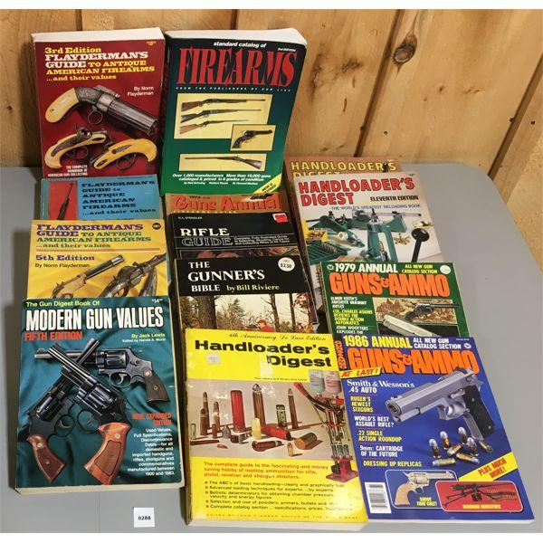 JOB LOT OF GUN & AMMO PUBLICATIONS