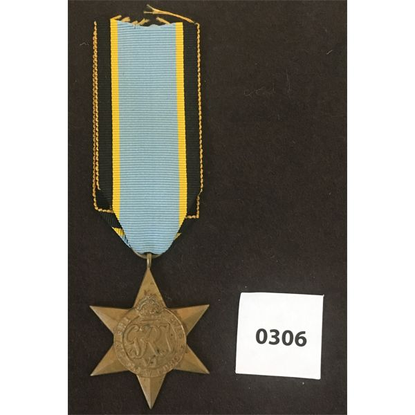 WWII AIR CREW EUROPE STAR MEDAL