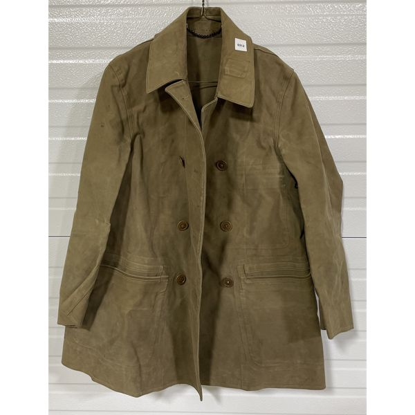 WWII CND NO 2 MILITARY DISTRICT TRENCH COAT