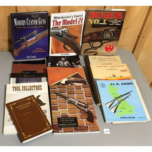 JOB LOT - FIREARM REFERENCE BOOKS, CATALOGS & MAGAZINES