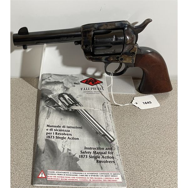 PIETTA COLT SINGLE ACTION ARMY MODEL IN .44-40 - RESTRICTED CLASS