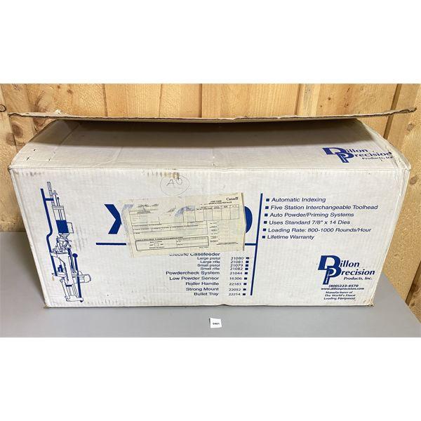DILLON XL 650 RELOADING PRESS IN ORIG BOX - MINIMAL USE