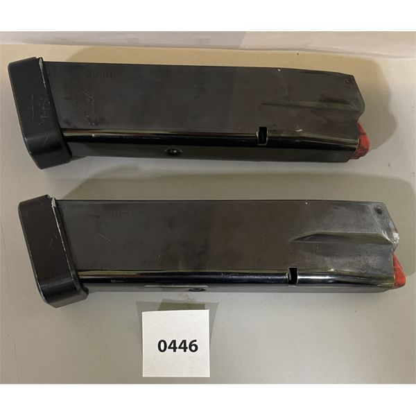 LOT OF 2 - 9 MM MAGS