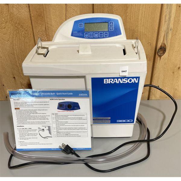 BRANSON MODEL 3800 ULTRASONIC BATH