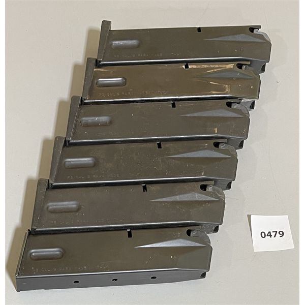 LOT OF 6 - 9 MM MAGS