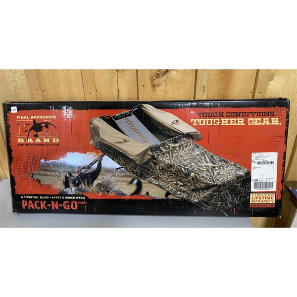 FINAL APPROACH PAC-N-GO WATERFOWL BLIND - AS NEW