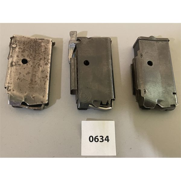 LOT OF 3 - UNKNOWN .22 CAL MAGS