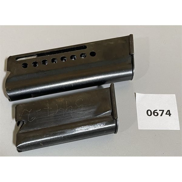LOT OF 2 - .22 RIFLE MAGS