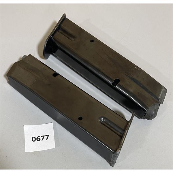 LOT OF 2 - BROWNING 9 MM MAGS