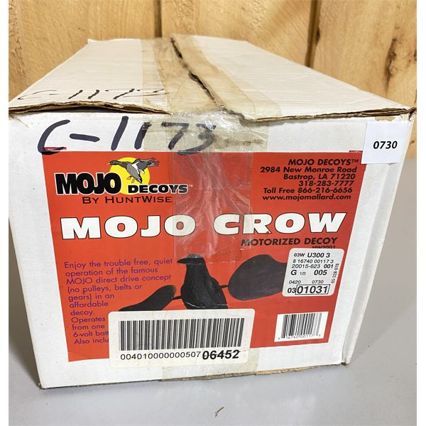 MOJO MOTORIZED CROW DECOY - AS NEW