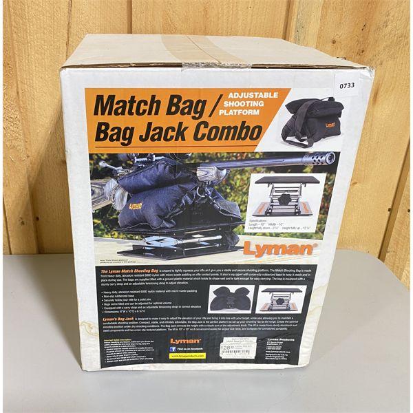 LYMAN MATCH BAG / JACK BAG COMBO - NEW