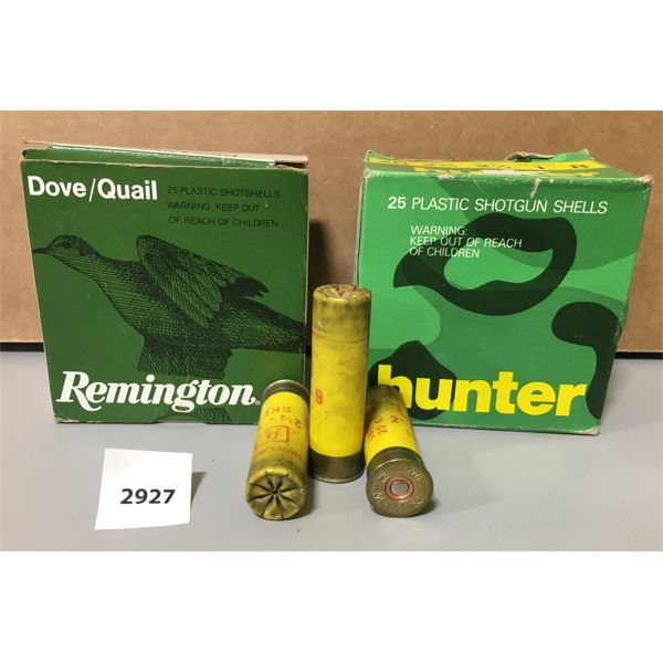 """AMMO: 50X 20 GA 2 3/4"""" #8- MAY INCLUDE RELOADS"""