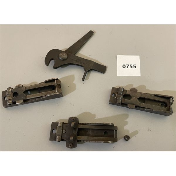 1879 & 1873 TRAPDOOR PARTS - CARBINE REAR SIGHT, RIFLE SIGHT & TOOL