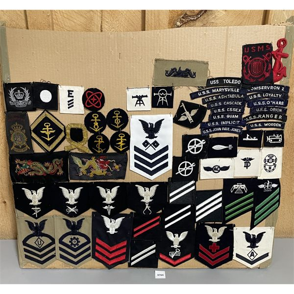 JOB LOT - MISC BADGES - SEE ALL IMAGES