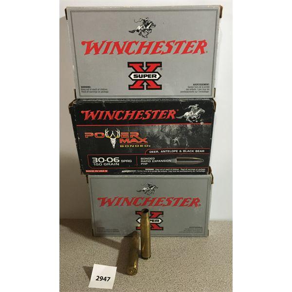 BRASS: 60X WINCHESTER 30-06 SPRG
