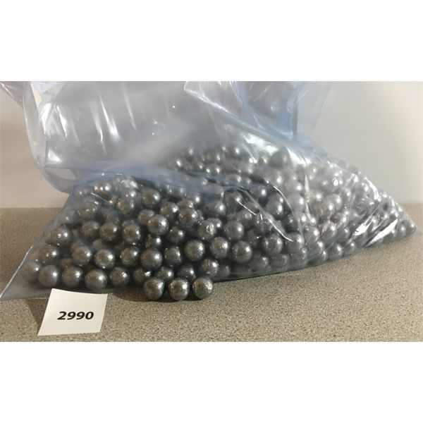 BULLETS: 14.5 LBS OF 45 CAL LEAD ROUND BALLS