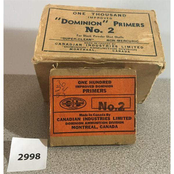 PRIMERS: 700 x FOR BLACK POWDER SHOTGUN SHELLS