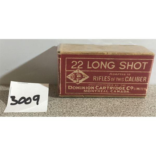 AMMO: 35 x DOMINION 22 LONG SHOT