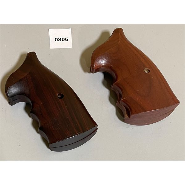 LOT OF 2 - SETS OF S&W K FRAME ROSEWOOD GRIPS