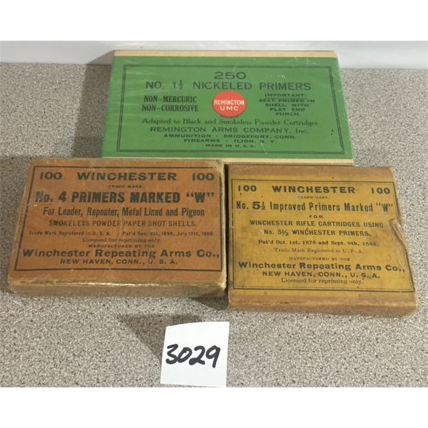 PRIMERS: APPROX. 450 x MIXED VINTAGE