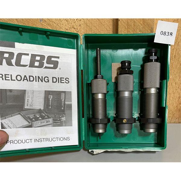 RCBS .45-70 GOVT RELOADING DIE SET - NEW