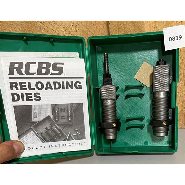 RCBS .7 X 57 MAUSER RELOADING DIE SET