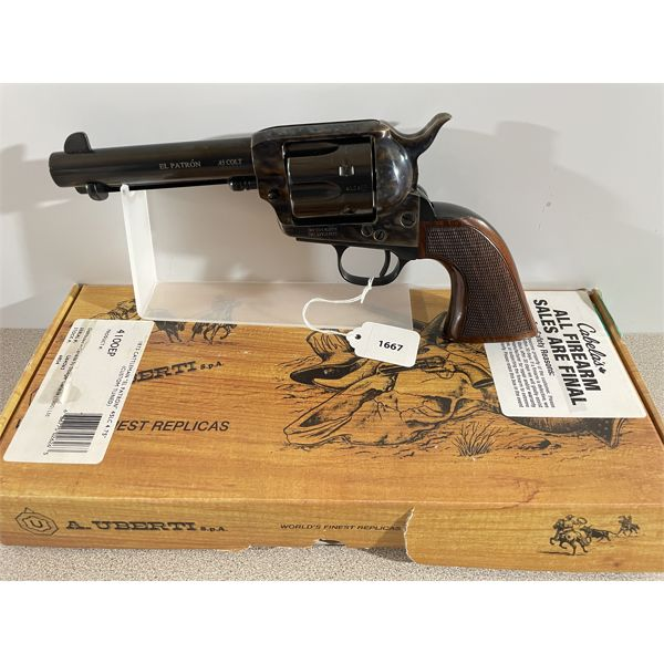 "UBERTI MODEL 1873 CATTLEMAN ""EL PATRON"" IN .45 LONG COLT"