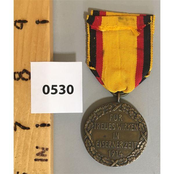 TREUES WIRKEN I EISERNER ZEIT - 1914